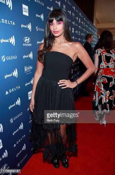 Jameela Jamil attends the 30th Annual GLAAD Media Awards Los Angeles at The Beverly Hilton Hotel on March 28, 2019 in Beverly Hills, California.