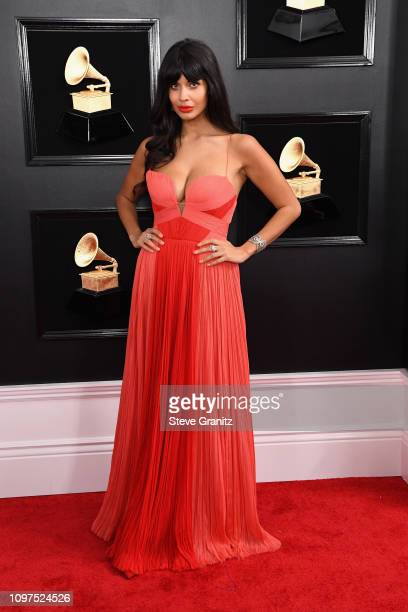 Jameela Jamil attends the 61st Annual GRAMMY Awards at Staples Center on February 10 2019 in Los Angeles California