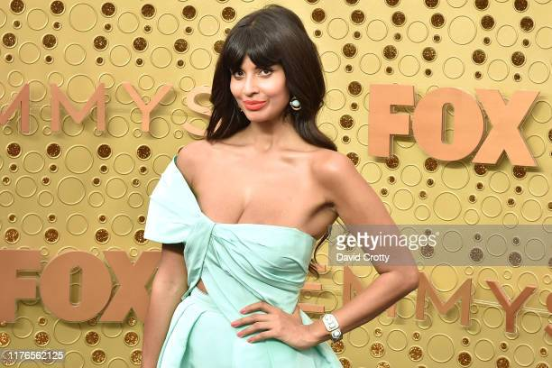 Jameela Jamil attends the 71st Emmy Awards at Microsoft Theater on September 22 2019 in Los Angeles California