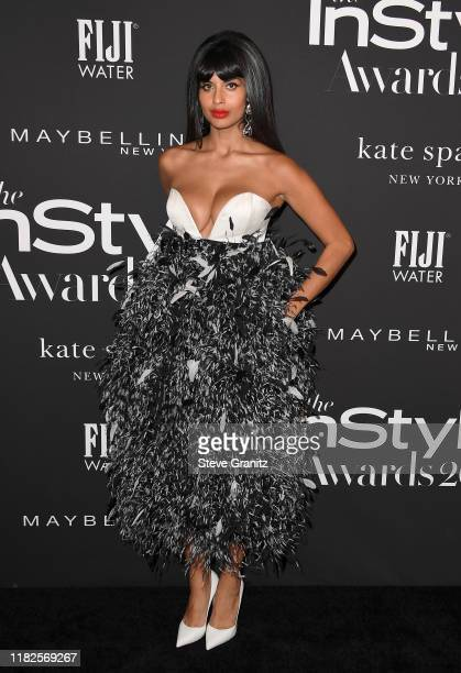 Jameela Jamil attends the Fifth Annual InStyle Awards at The Getty Center on October 21, 2019 in Los Angeles, California.