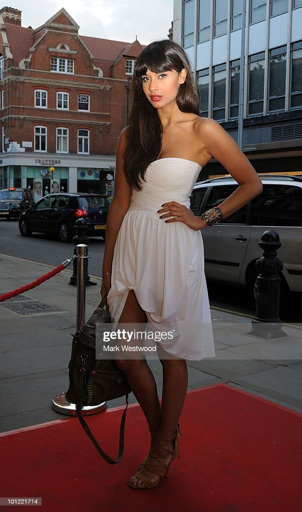 Jameela Jamil attends the store launch party for BCBGMAXAZRIA on King's Road on May 27, 2010 in London, England.