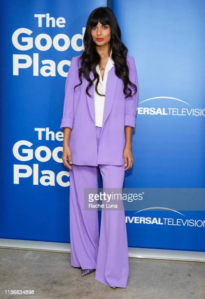 Jameela Jamil attends Universal Television's The Good Place FYC at UCB Sunset Theater on June 17 2019 in Los Angeles California