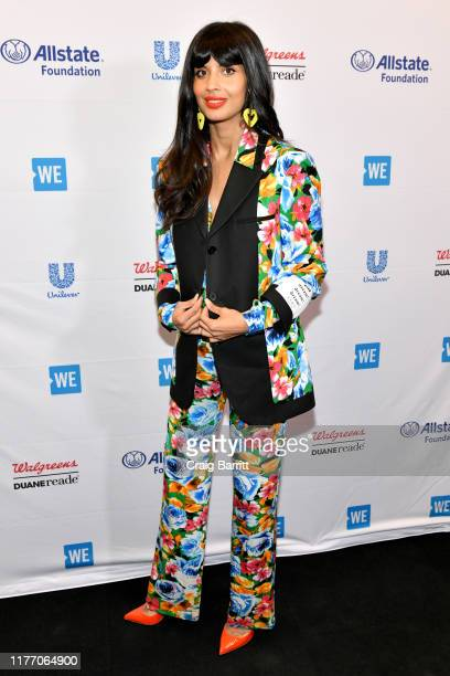 Jameela Jamil attends WE Day UN 2019 at Barclays Center on September 25 2019 in New York City