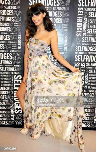 Jameela Jamil hosts GQ event showcasing Spring/Summer 2011 fashion trends at Selfridges on March 3 2011 in Manchester England