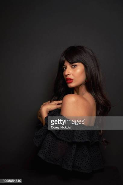 Jameela Jamil of TBS's Misery Index poses for a portrait during the 2019 Winter TCA at The Langham Huntington Pasadena on February 11 2019 in...