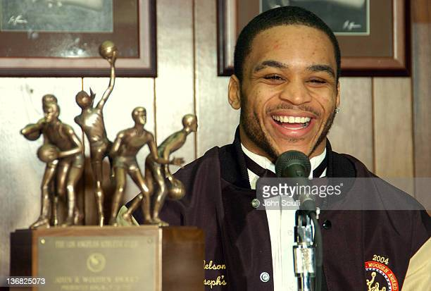 Jameer Nelson of Saint Joseph's University finished 1st in votes with 5408 points