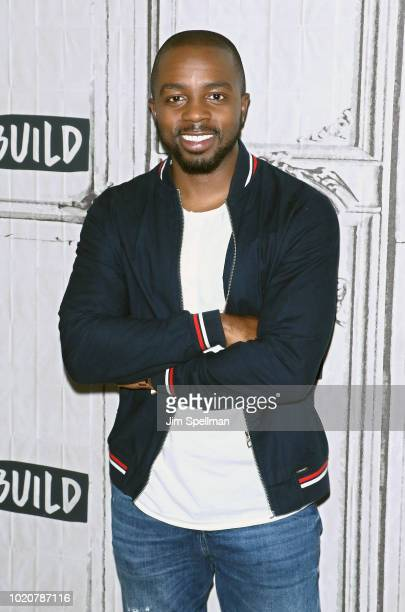 Jameer Pond attends the Build Brunch at Build Studio on August 21 2018 in New York City