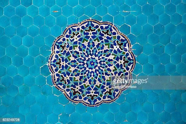jameh mosque, yazd, iran - middle eastern culture stock pictures, royalty-free photos & images