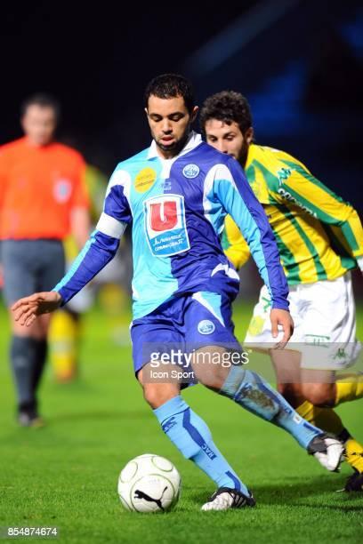 Jamel AIT BEN IDIR - - Le Havre / Nantes - 13eme journee de Ligue 2 - Stade Municipal Jules Deschaseaux,