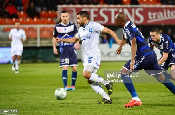 Jamel AIT BEN IDIR Auxerre / Troyes 24e journee Ligue 2 Photo Dave Winter / Icon Sport