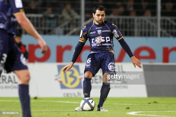 Jamel AIT BEN IDIR Arles Avignon / Nice 19eme journee de Ligue 1