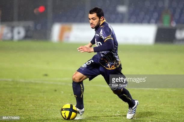 Jamel AIT BEN IDIR Arles Avignon / PSG 21eme journee de Ligue1