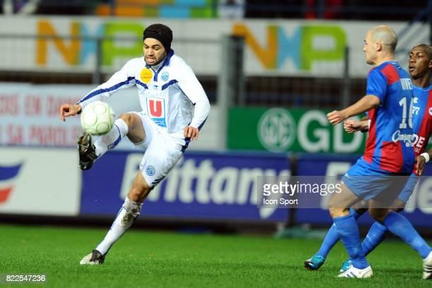 Jamel AIT BEN IDIR Caen / Le Havre 16eme journee de Ligue 2 Stade Michel d'Ornano Caen