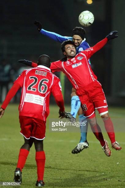 Jamel AIT BEN IDIR / CAVALLI Nimes / Le Havre 24e journee de Ligue2