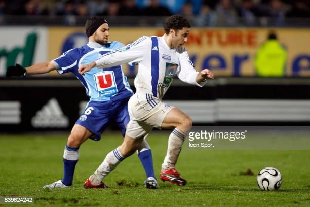 Jamel AIT BEN IDIR / Joao Paulo DANIEL - - Le Havre / Strasbourg - 27eme Journee de Ligue 2,