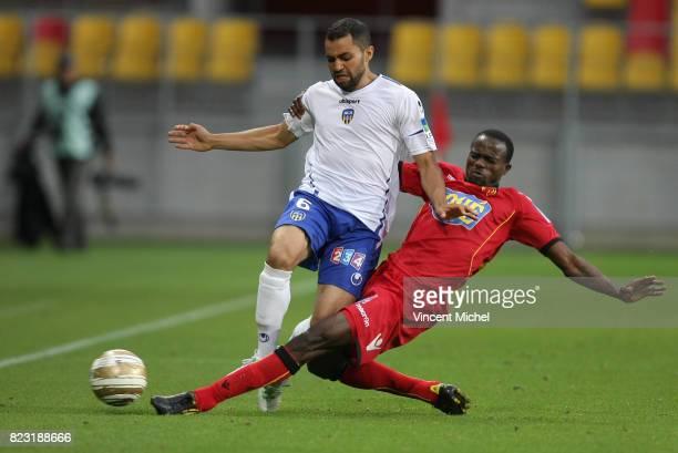Jamel AIT BEN IDIR / Roland LAMAH Le Mans / Arles Avignon Coupe de la Ligue 2011/2012