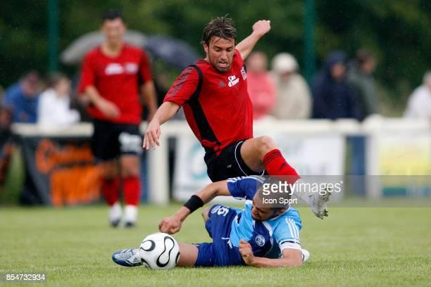 Jamel AIT BEN IDIR / Yann JOUFFRE Guingamp / Le Havre Ligue 2 match amical