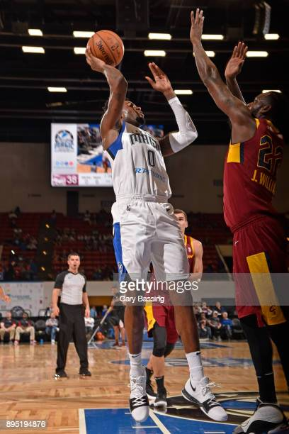 Jamel Artis of the Lakeland Magic shoots the ball against the Canton Charge on November 10 2017 at RP Funding Center in Lakeland Florida NOTE TO USER...