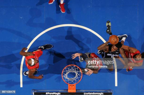 Jamel Artis of the Orlando Magic shoots the ball against the New Orleans Pelicans on December 22 2017 at Amway Center in Orlando Florida Or NOTE TO...