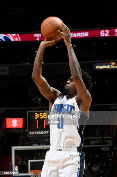 Jamel Artis of the Orlando Magic shoots the ball against the Washington Wizards at Capital One Arena on December 23 2017 in Washington DC NOTE TO...