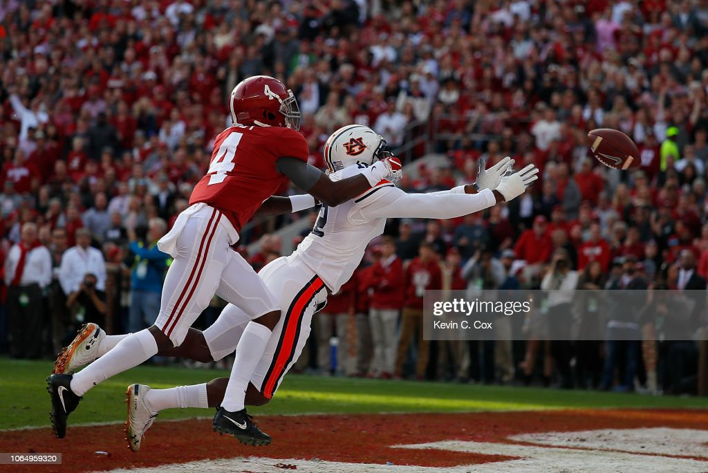 Auburn v Alabama : News Photo