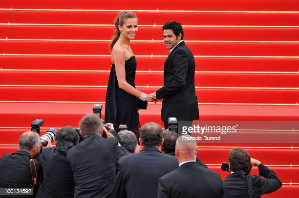 Jamel Debbouze and Melissa Theuriau attend the 'Outside Of The Law' Premiere at the Palais des Festivals during the 63rd Annual Cannes Film Festival...
