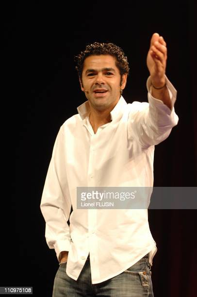 Jamel Debbouze performs at the Festival du Rire de Montreux in Montreux Switzerland on December 05th 2007
