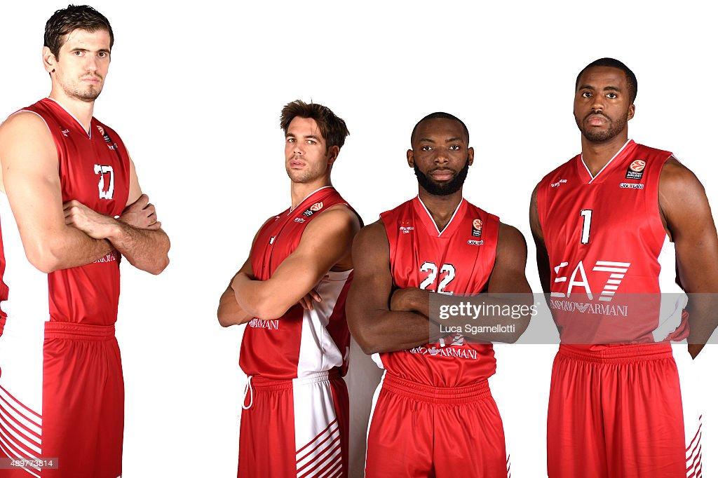 EA7 Emporio Armani Milan 2015/2016 Turkish Airlines Euroleague Basketball Media Day