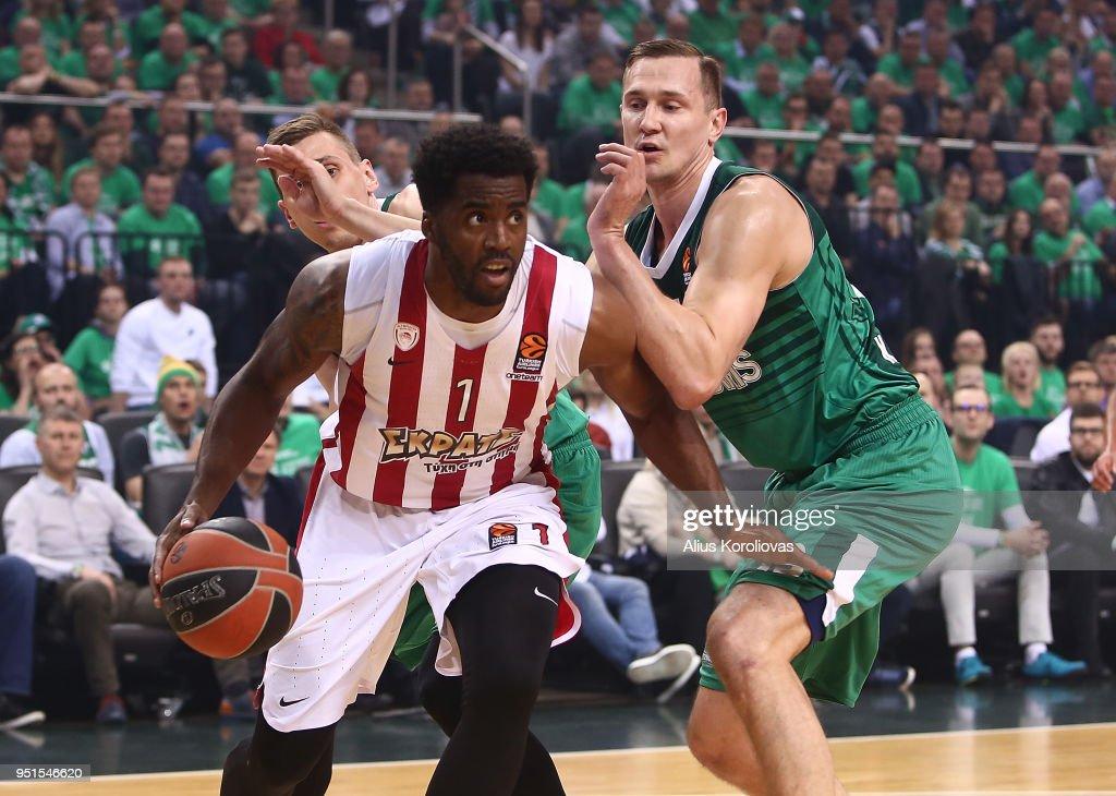 Zalgiris Kaunas v Olympiacos Piraeus - Turkish Airlines Euroleague Play off Game Four