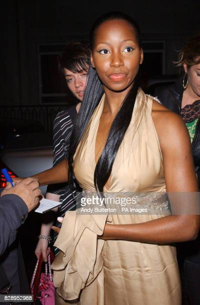 Jamelia arrives for the NERD BRIT aftershow party at Pangea Piccadilly Circus central London