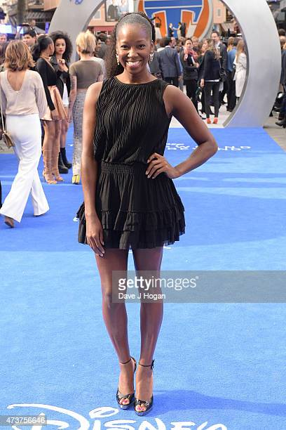 A World Beyond European premiere at Leicester Square on May 17 2015 in London England