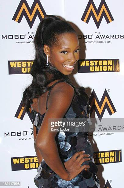 Jamelia during 2006 MOBO Awards Nominations Outside Arrivals at Proud Gallery in London Great Britain