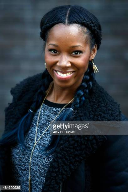 Jamelia sighted leaving the ITV Studios after hosting 'Loose Women' April 15 2014 in London England