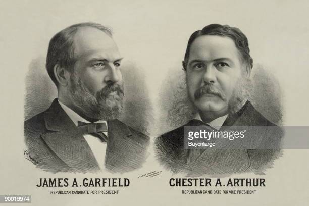 James A Garfield Republican candidate for president Chester A Arthur Republican candidate for vice president