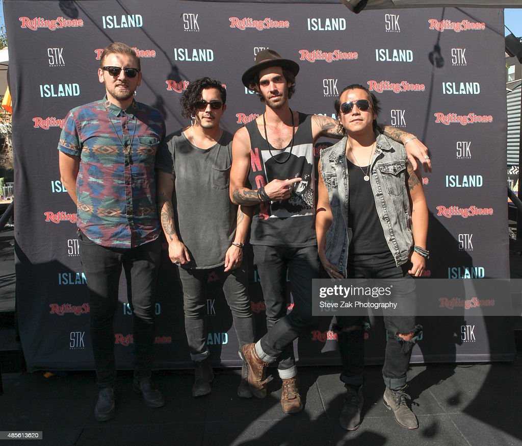 American Authors Perform During The Island Records' Summer Concert Series Finale