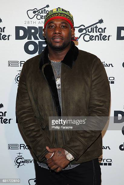 James Agnew attends Guitar Center's 28th Annual DrumOff Finals Event at The Novo by Microsoft on January 14 2017 in Los Angeles California