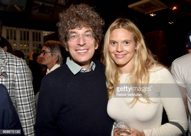 James Altucher and Jasmine Loeb attend the VieVite x Zac Posen LimitedEdition Bottle Launch at Salon de Ning at The Penisula on May 15 2018 in New...