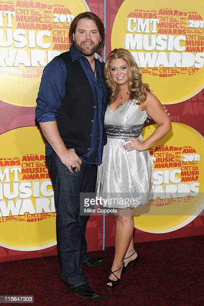 James and Amy Otto attend the 2011 CMT Music Awards at the Bridgestone Arena on June 8 2011 in Nashville Tennessee