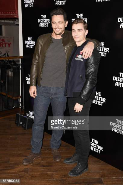 James and Dave Franco attend a screening of The Disaster Artist at Picturehouse Central on November 22 2017 in London England