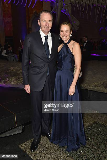 James and Penny Gorman attends the American Museum of Natural History's 2016 Museum Gala at American Museum of Natural History on November 17 2016 in...
