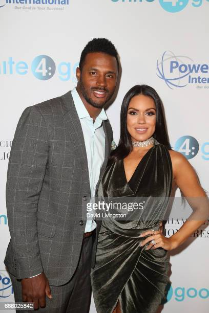 James Anderson and Carissa Rosario attend the 4th annual unite4:humanity Gala at the Beverly Wilshire Four Seasons Hotel on April 7, 2017 in Beverly...