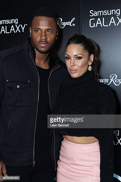 James Anderson and Karisa Rosario attended the Kenny Smith's All Star Homecoming - NBA All-Star Weekend 2015 at Pranna Restaurant on February 13,...