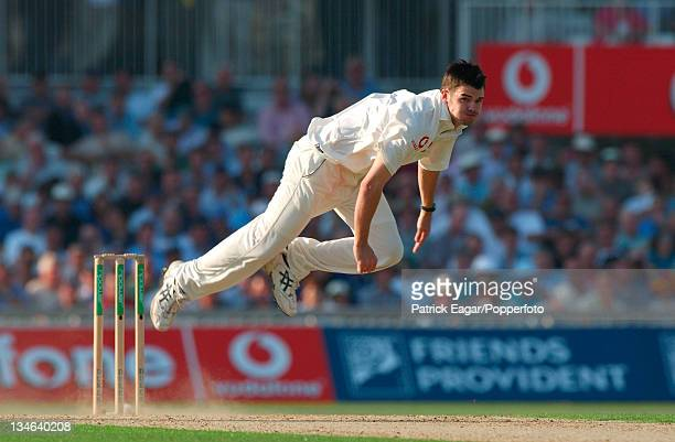 James Anderson England v South Africa 5th Test The Oval Sep 03