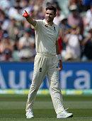 adelaide australia james anderson england celebrates