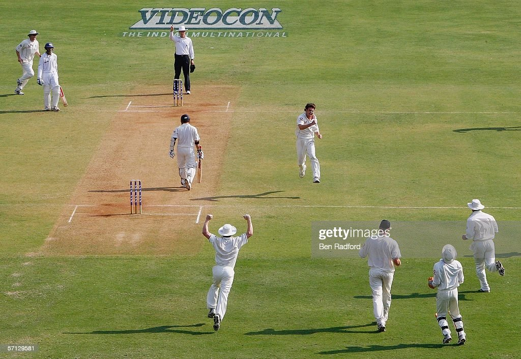 Third Test: India v England - Day Two : News Photo