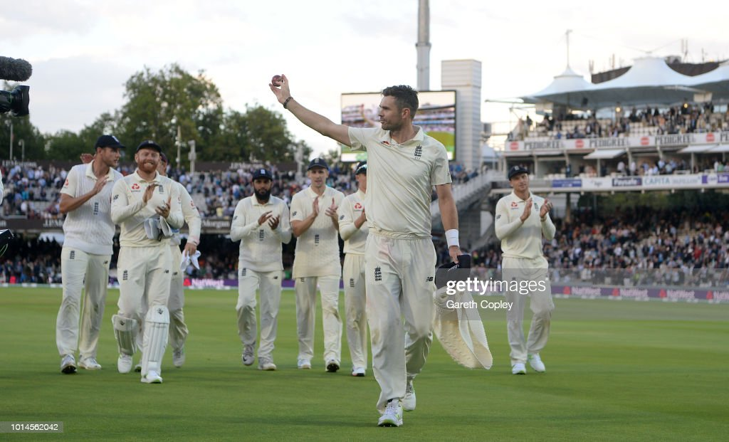 GBR: England v India: Specsavers 2nd Test - Day Two