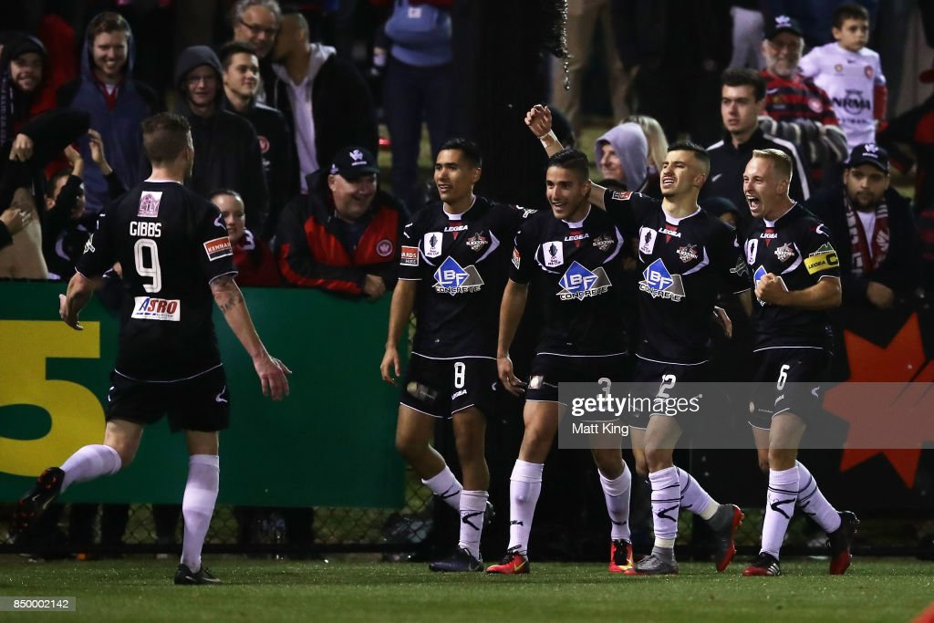 FFA Cup Quarter Final - Blacktown City v Western Sydney Wanderers : News Photo