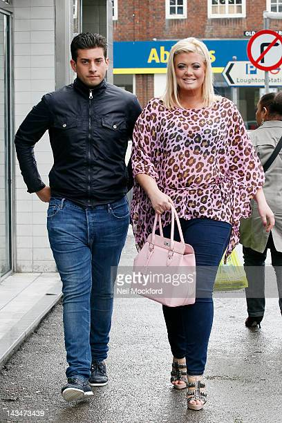 James 'Arg' Argent and Gemma Collins from TOWIE seen in Essex on April 27 2012 in London England