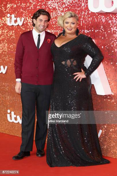 James Argent and Gemma Collins arrive at the ITV Gala held at the London Palladium on November 9 2017 in London England