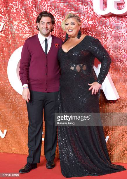 James Argent and Gemma Collins attend the ITV Gala at the London Palladium on November 9 2017 in London England